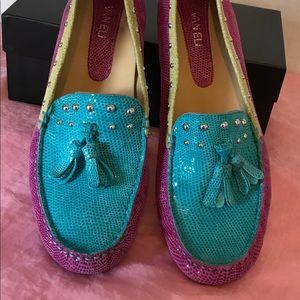 Vaneli Multi-colored Loafers